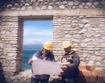 Renovation stone house